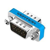 Adaptador VGA Macho para VGA Macho - Prateado Metalizado - Vention