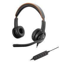 Headset UC40 Duo NC com Conexão USB - Axtel