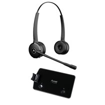 Headset Prime X1 Duo Wireless para Telefone Fixo - Axtel