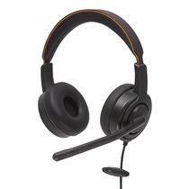 Headset UC45 Duo NC com Conexão USB ou Jack 3.5mm - Axtel