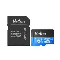 Cartão Micro SD P500 Netac, de 16GB, com Adaptador