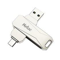 Pen Drive USB 3.0 + Micro USB 2.0 U381 Netac, de 16 a 128GB