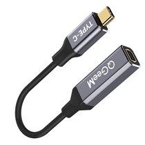 Cabo Adaptador Tipo-C para Mini DisplayPort - QgeeM