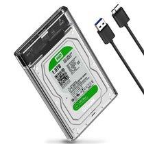 Caixa para Disco Externo 2.5'' com cabo Micro USB Tipo-B - QgeeM