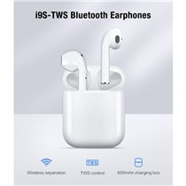 Fones Auriculares Bluetooth I9 TWS - Brancos - Goeik