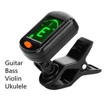Afinador Sintonizador Digital de Tipo Elétrico de Alta Sensibilidade Rotativo com Clipe - Goeik