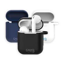 Estojo de Proteção com 6 funções para Auriculares Airpods e Earbuds TWS com Proteção em Silicone Antiderrapante - Goeik