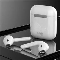 Fones Auriculares Bluetooth i12-TWS com Caixa Powerbank - Branco - Goeik