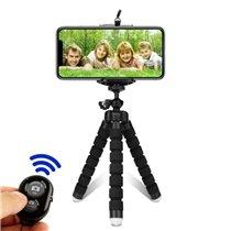 Tripé de Telemóvel para Selfie, com Controlo Remoto Bluetooth - Goeik